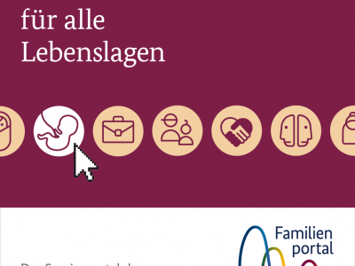 Alles auf einen Klick – Neues zentrales Internetportal für Familien