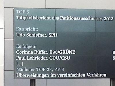 Jahresbericht des Petitionsausschusses